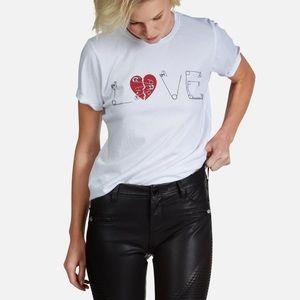 Lauren Moshi Croft Safety Pin Love